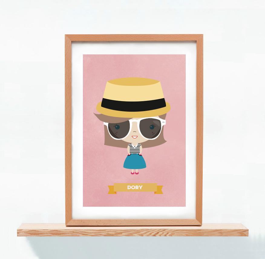 Ilustracion Personalizada Dory