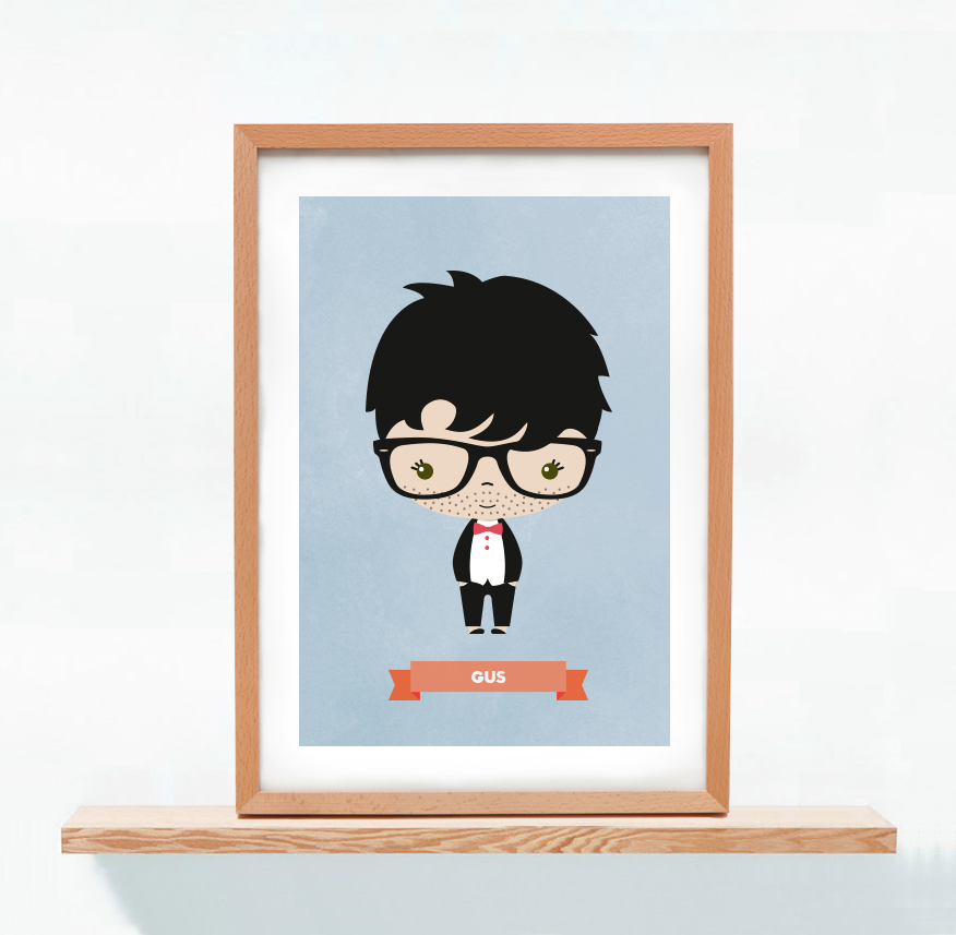 Ilustracion Personalizada Gus