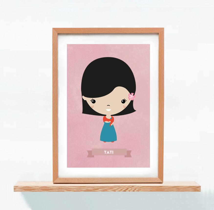 Ilustracion Personalizada Tatiana Sarasa
