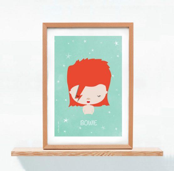 Lámina David Bowie