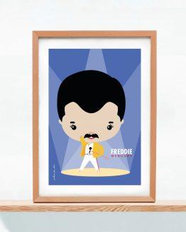 Lámina Freddie Mercury